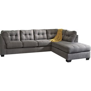 Zipcode Design ZPCD4605 Kitty Sleeper Sectional