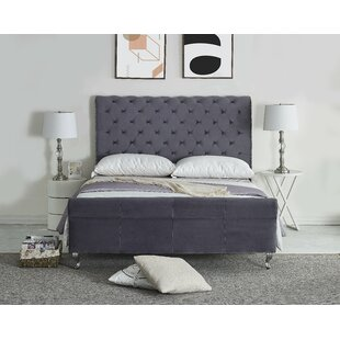 Vicente Upholstered Sleigh Bed