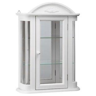 Design Toscano Rosedale Hardwood Wall Mounted Curio Cabinet
