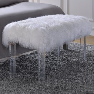 Everly Quinn Crowland Upholstered Bench