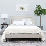 Rios Queen Upholstered Platform Bed by Charlton Home®