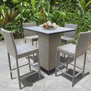Monterey 5 Piece Pub Table Set by TK Classics