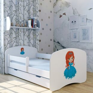 Princess Anna Bed With Mattress And Drawer By Zoomie Kids