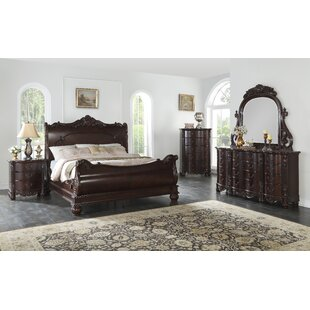 Treyton Sleigh Configurable Bedroom Set