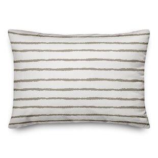 Martin Stripes Outdoor Lumbar Pillow