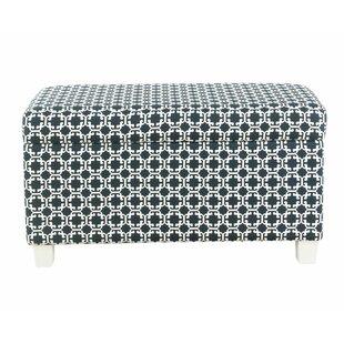 Harriet Bee Adames Upholstered Storage Bench