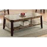 Ludie Coffee Table with Storage by Fleur De Lis Living