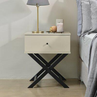 Nachttisch Long Eaton | Schlafzimmer > Nachttische | Melamin | Metro Lane