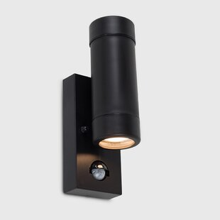 Likens Outdoor Wall Light With Motion Sensor (Set Of 2) By Sol 72 Outdoor