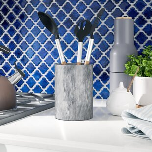 Belani Marble Utensil Holder