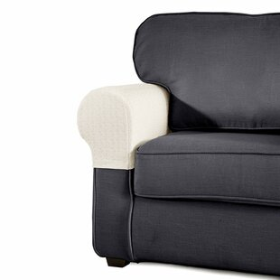 Read Reviews Jacquard Armrest Sofa Silpcover (Set of 2) by Winston Porter Reviews (2019) & Buyer's Guide