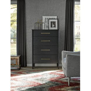 Brayden Studio Lewis 4 Drawer Chest