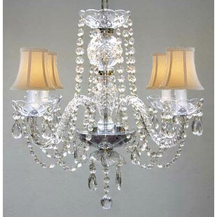 House of Hampton Kimbro 4-Light Shaded Chandelier