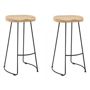 Union Rustic Brophy Modern Bar Stool (Set..