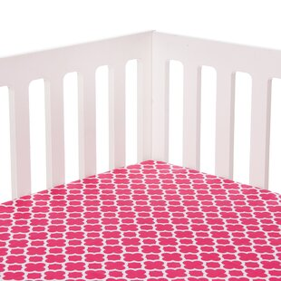 Sweet Potato by Glenna Jean Pippin Fitted Crib Sheet