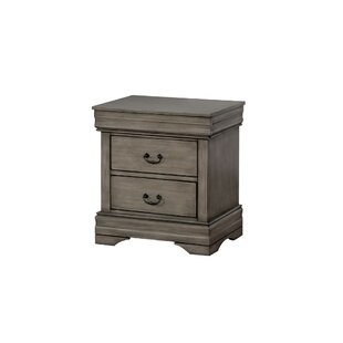 Maeve 2 Drawer Nightstand by Highland Dunes