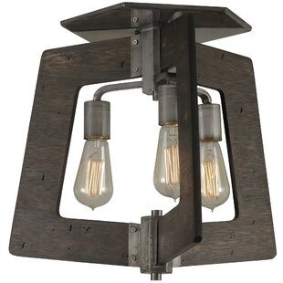 Trent Austin Design Blayze 3-Light Semi Flush Mount