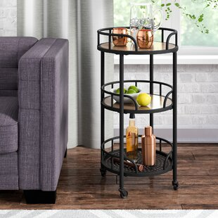 Braxton Mobile Bar Cart