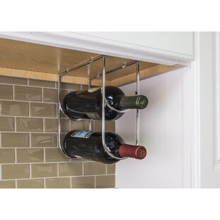 Under Cabinet 2 Bottle Wine Bottle Rack