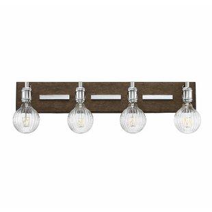 Gracie Oaks Wychwood 4-Light LED Vanity Light