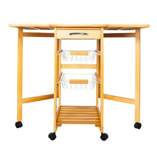 Andrico Kitchen Cart by Ebern Designs