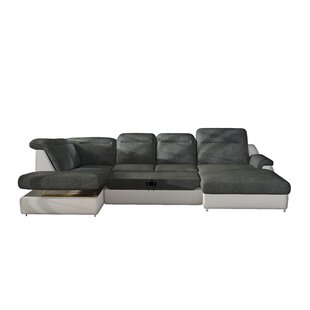 Phenomenal Coalpit Heath Leather Sectional By Orren Ellis For U Pabps2019 Chair Design Images Pabps2019Com