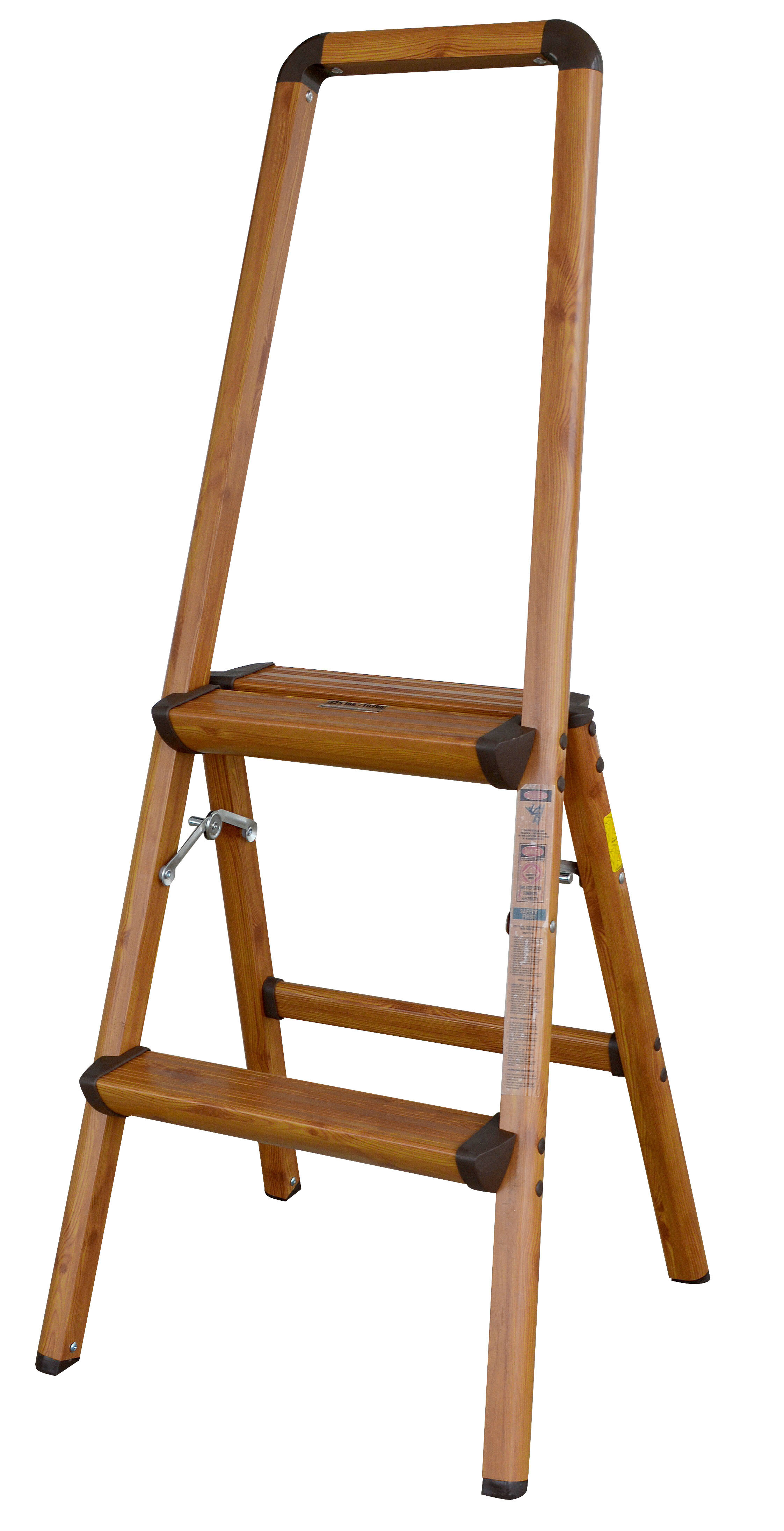3.7 Ft Aluminum Lightweight Step Ladder With 225 Lb. Load Capacity