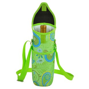 Paisley Single Bottle Tote
