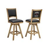 Fireball 30 Swivel Bar Stool (Set of 2) by ECI Furniture