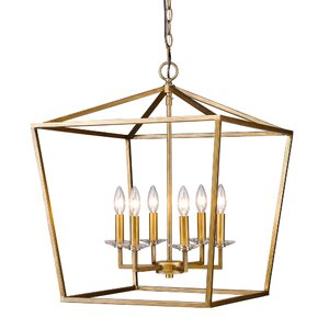 Kennedy 6-Light Foyer Pendant