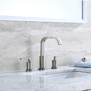 Contemporary Widespread Handle Bathroom Faucet By Luxier