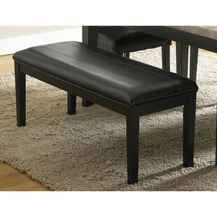 Gerena Faux Leather Bench by Red Barrel S..