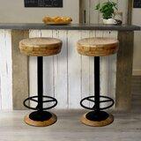 Henning 30 Bar Stool by Gracie Oaks