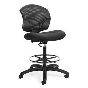 Global Total Office Tye Mesh Drafting Chair