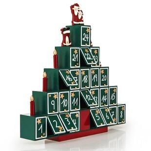 Weihnachtsdeko Cremefarben.Adventskalender Weihnachtsdeko Zum Verlieben Wayfair De