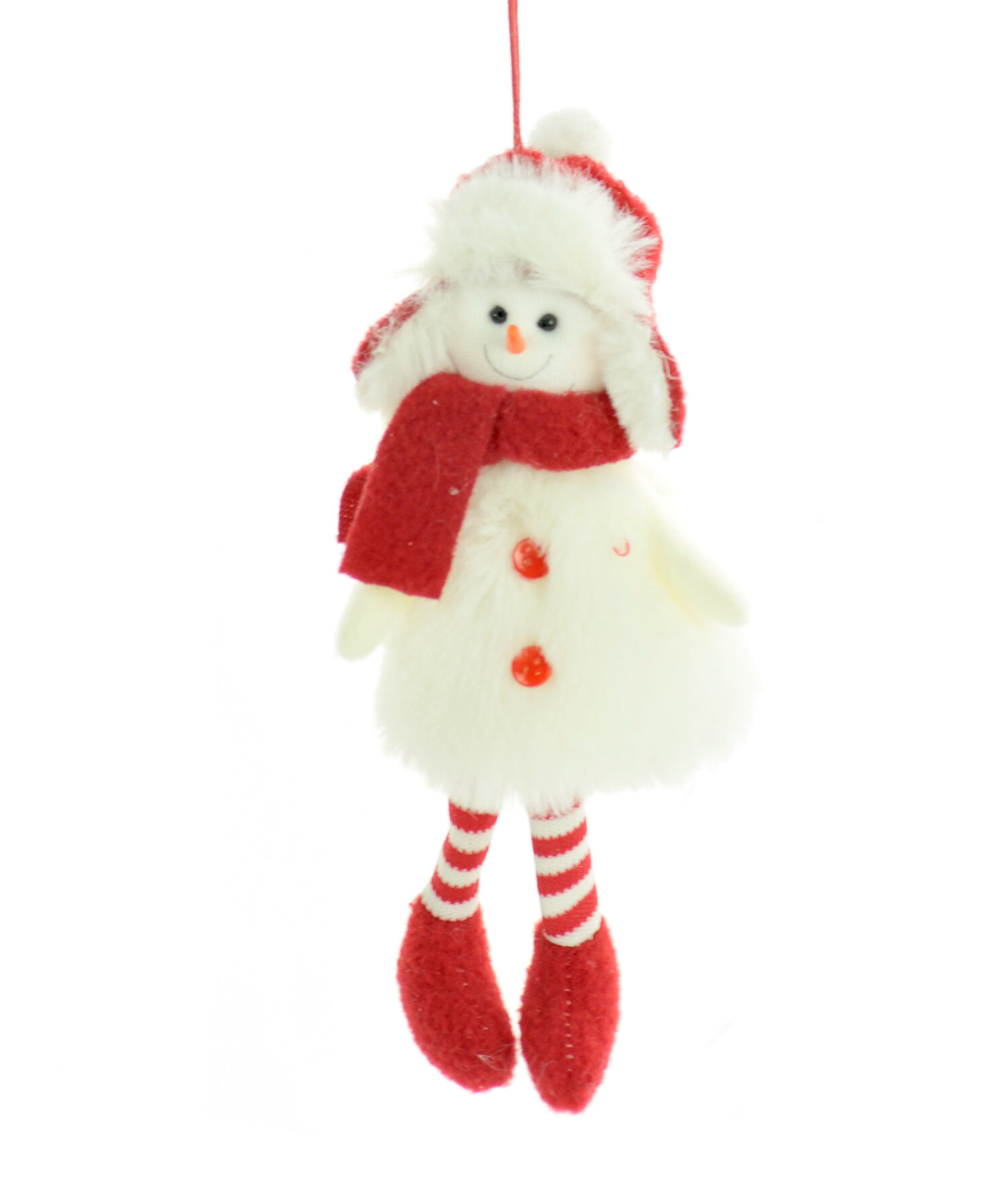 The Holiday Aisle Snowmen With Stripped Socks Hanging Figurine Ornament Wayfair
