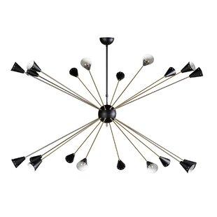 George Oliver Cerrato 20-Light Sputnik Chandelier