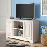 Wentzel Solid Wood TV Stand for TVs up to 60 by Red Barrel Studio®