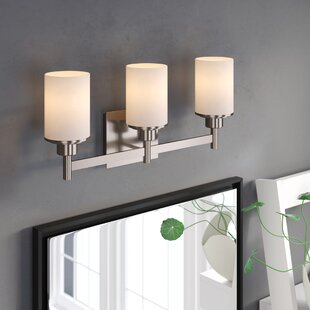 Clearance Cusick 3-Light Vanity Light By Ebern Designs