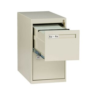 2 Drawer Vertical Letter File Cabinet by Tennsco Corp.