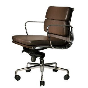 Clyde Genuine Leather Conference Chair