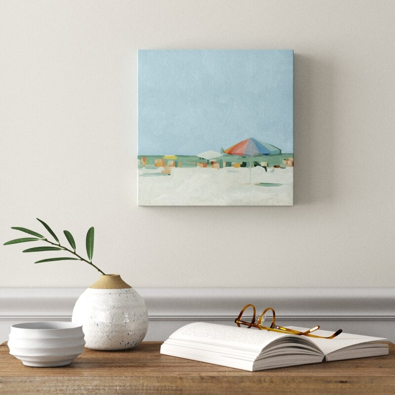 Summer Palette Ii Wrapped Canvas Painting On Canvas Reviews Joss Main