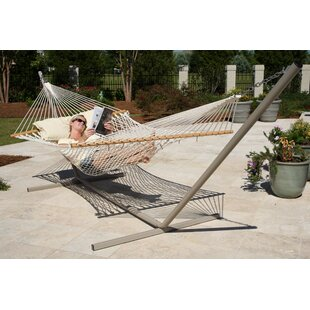 Crowle Cotton Rope Hammock by Freeport Park