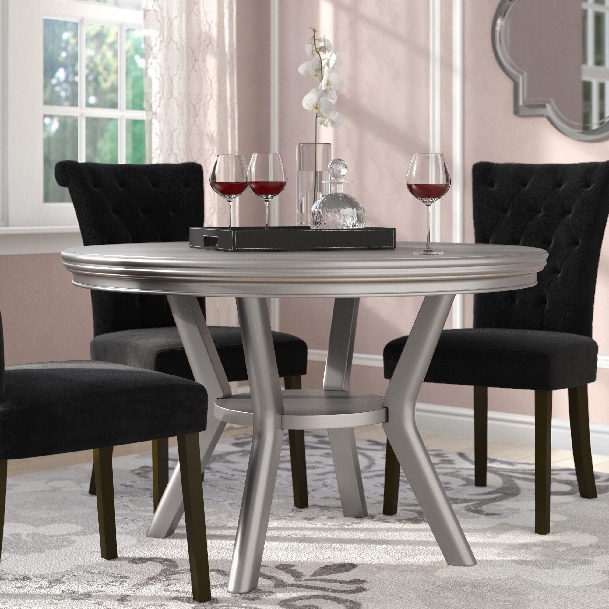 48 Inches Round Kitchen Dining Tables You Ll Love In 2021 Wayfair