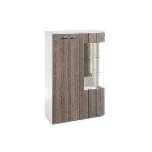 Albane Console Curio Cabinet By Ebern Designs