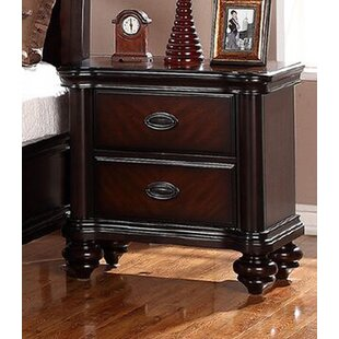 Ida 2 Drawer Nightstand by Astoria Grand