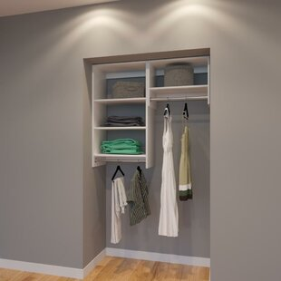 Find for Christie 48 W Organizer Closet System (Set of 3) By Rebrilliant