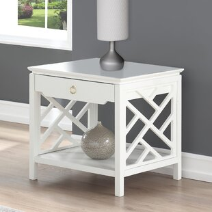 Best Reviews Adam End Table with Storage by Grovelane Teen
