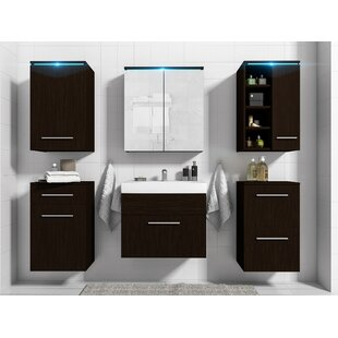 Whetstone Bathroom Storage Furniture Set By Metro Lane