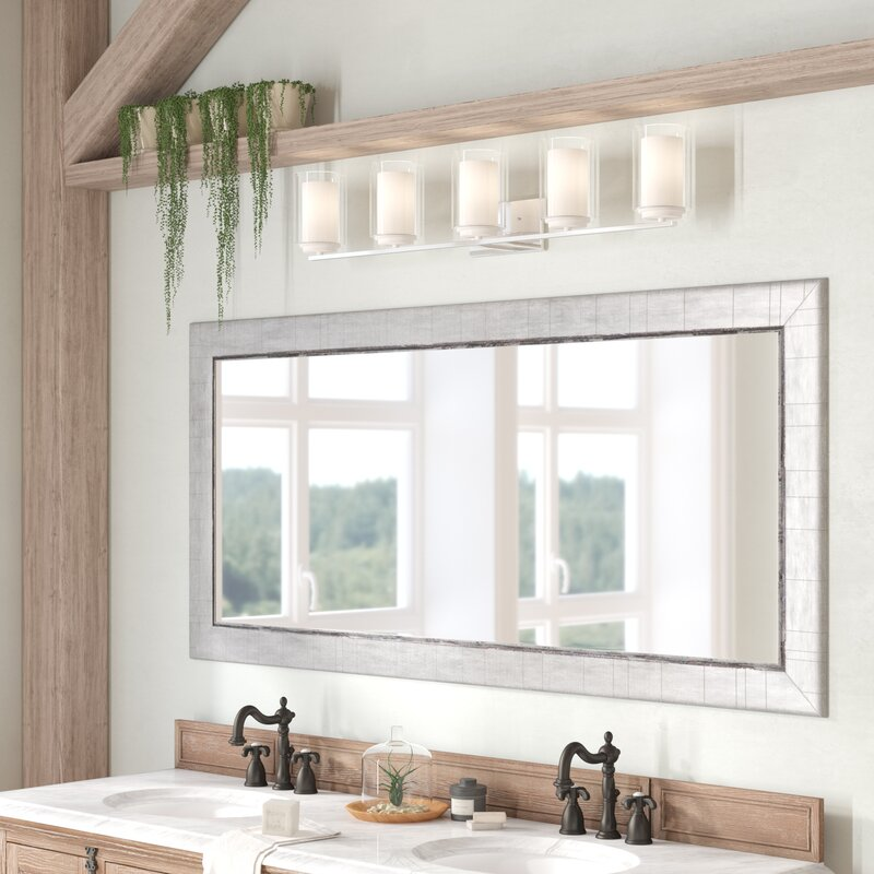 Gracie Oaks Modern Contemporary Bathroom Vanity Mirror Reviews Wayfair